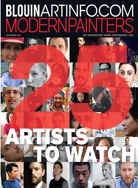 Modern Painters - 25 artists to Watch - Dec. 2013